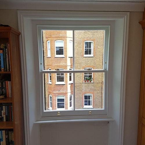Timber Framed Sash Window